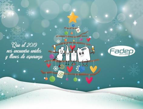 Fadep Envases te Desea Felices Fiestas!!!