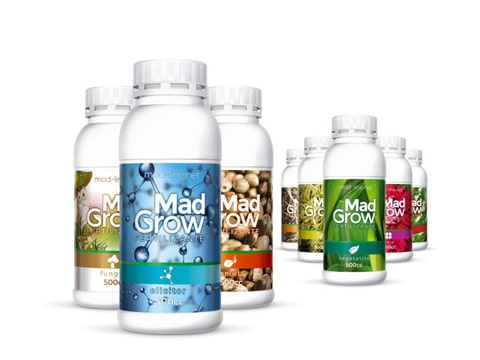 Envases para fertilizantes cultivo orgánico