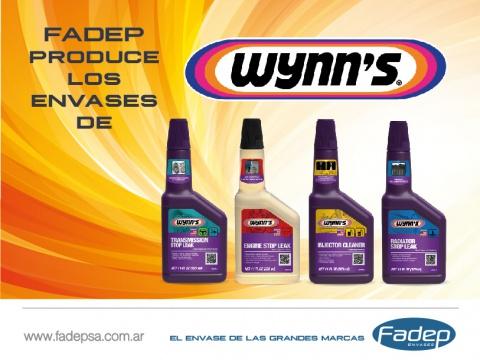 Fadep Produce envase Para Wynns